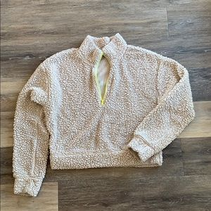 2 for $15 - Wild Fable Cream Teddie Sweatshirt